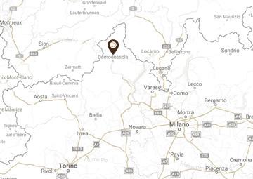 domus residence mappa
